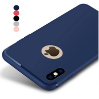 Coque Housse Etui Ultra Slim TPU Headline pour Apple iPhone X