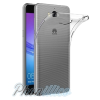 Coque Housse Etui Ultra Slim TPU Transparent pour Huawei Y5 2017