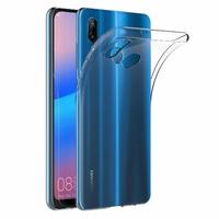 Coque Housse Etui Ultra Slim TPU Transparent pour Huawei P20 LITE