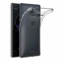 Coque Housse Etui Ultra Slim TPU Transparent pour Sony Xperia XZ2 Compact