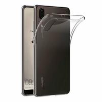 Coque Housse Etui Ultra Slim TPU Transparent pour Huawei P20