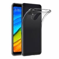 Coque Housse Etui Ultra Slim TPU Transparent pour Xiaomi REDMI 5 PLUS