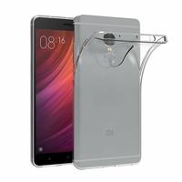 Coque Housse Etui Ultra Slim TPU Transparent pour Xiaomi REDMI NOTE 4