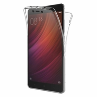Coque Housse Etui TPU Silicone Intégrale Protection Transparent pour Xiaomi REDMI NOTE 4