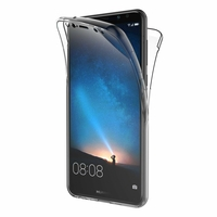 Coque Housse Etui TPU Silicone Intégrale Protection Transparent pour Huawei MATE 10 LITE