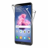 Coque Housse Etui TPU Silicone Intégrale Protection Transparent pour Huawei P SMART