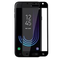 Film Protection Ecran Verre Trempe 100% Integrale Bord Noir pour Samsung Galaxy J3 2017