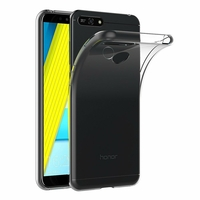Coque Housse Etui Ultra Slim TPU Transparent pour Huawei Honor 7A