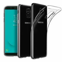 Coque Housse Etui Ultra Slim TPU Transparent pour Samsung Galaxy J6 2018