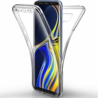 Coque Housse Etui TPU Silicone Intégrale Protection Transparent pour Samsung Galaxy Note 9