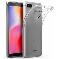 Coque Housse Etui Ultra Slim TPU Transparent pour Xiaomi REDMI 6