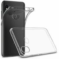 Coque Housse Etui Ultra Slim TPU Transparent pour Xiaomi Mi A2 LITE