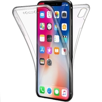 Coque Housse Etui TPU Silicone Intégrale Protection Transparent pour Apple iPhone XS MAX