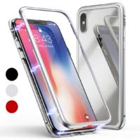 Coque Magnétique + Verre Trempé pour Apple iPhone XS MAX