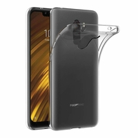 Coque Housse Etui Ultra Slim TPU Transparent pour Xiaomi POCOPHONE F1