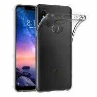 Coque Housse Etui Ultra Slim TPU Transparent pour Xiaomi REDMI NOTE 6 PRO