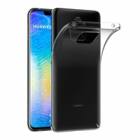 Coque Housse Etui Ultra Slim TPU Transparent pour Huawei Mate 20 PRO