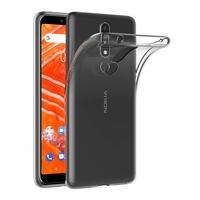 Coque Housse Etui Ultra Slim TPU Transparent pour Nokia 3.1 PLUS
