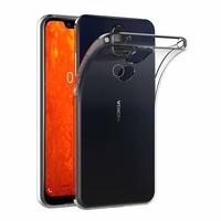 Coque Housse Etui Ultra Slim TPU Transparent pour Nokia 8.1