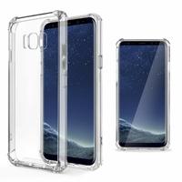 Coque Antichoc Housse Etui TPU Ultra Slim Transparent pour Samsung Galaxy S8+