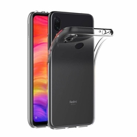 Coque Housse Etui Ultra Slim TPU Transparent pour Xiaomi REDMI 7