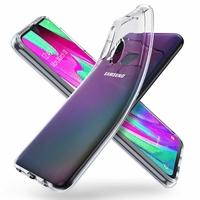 Coque Housse Etui Ultra Slim TPU Transparent pour Samsung Galaxy A40