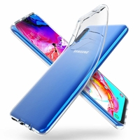 Coque Ultra Slim TPU Transparent pour Samsung Galaxy A70