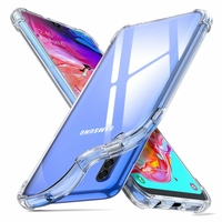 Coque Antichoc Housse Etui TPU Ultra Slim Transparent pour Samsung Galaxy A70
