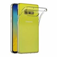 Coque Housse Etui Ultra Slim TPU Transparent pour Samsung Galaxy S10 E