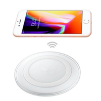 Chargeur à Induction Recharge Sans Fil Rapide Monoplace pour Smartphone Compatible Système Qi Wireless Power