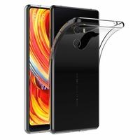 Coque Silicone Souple TPU Transparent pour Xiaomi MI MIX 2