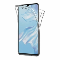 Coque Silicone Intégrale Protection Transparent Huawei P30