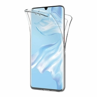 Coque Silicone Intégrale Protection Transparent Huawei P30 PRO
