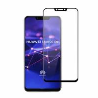 Verre Trempe Bord Noir Huawei MATE 20 LITE