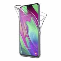 Coque TPU Silicone Intégrale Transparent pour Samsung Galaxy A40