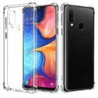 Coque Antichoc TPU Ultra Slim Transparent pour Samsung Galaxy A20e