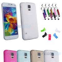 Coque Housse etui Ultra Slim TPU Transparent pour Galaxy S5