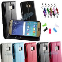Etui Housse coque Portefeuille pour Samsung Galaxy S6