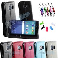 Etui Housse coque Portefeuille pour Samsung Galaxy S6 Edge