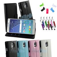 Etui Housse coque Portefeuille pour Samsung Galaxy Note 4