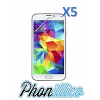 Lot 5 Films Protection Ecran pour Samsung Galaxy S5 Mini