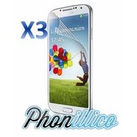 Lot 3 Films Protection Ecran pour Samsung Galaxy S4