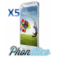 Lot 5 Films Protection Ecran pour Samsung Galaxy S4