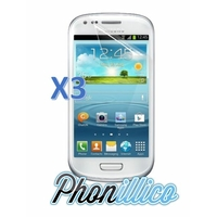 Lot 3 Films Protection Ecran pour Samsung Galaxy S3 Mini
