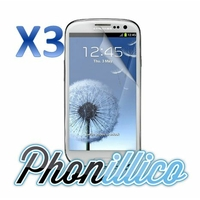 Lot 3 Films Protection Ecran pour Samsung Galaxy S3