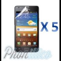 Lot 5 Films Protection Ecran pour Samsung Galaxy S2