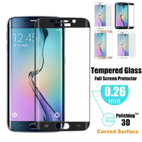 Film Protection Verre Trempe 100% Incurve Integral pour Samsung Galaxy S6 Edge Plus
