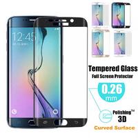 Film Protection Verre Trempe 100% Incurve Integral pour Samsung Galaxy S6 Edge