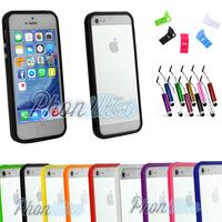 Coque Housse Etui Bumper pour Apple iPhone 5 / 5S