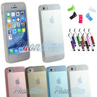 Coque Housse Etui Ultra Slim TPU pour Apple iPhone 5 / 5S